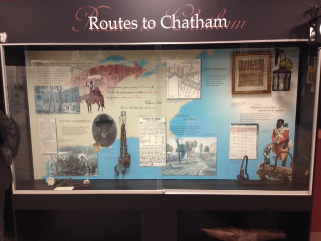 Routes to Chatham