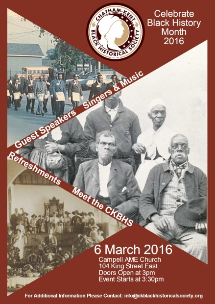 BHM Event Poster
